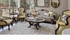 img salas tapicería telas materiales diseños antiguos con mesa